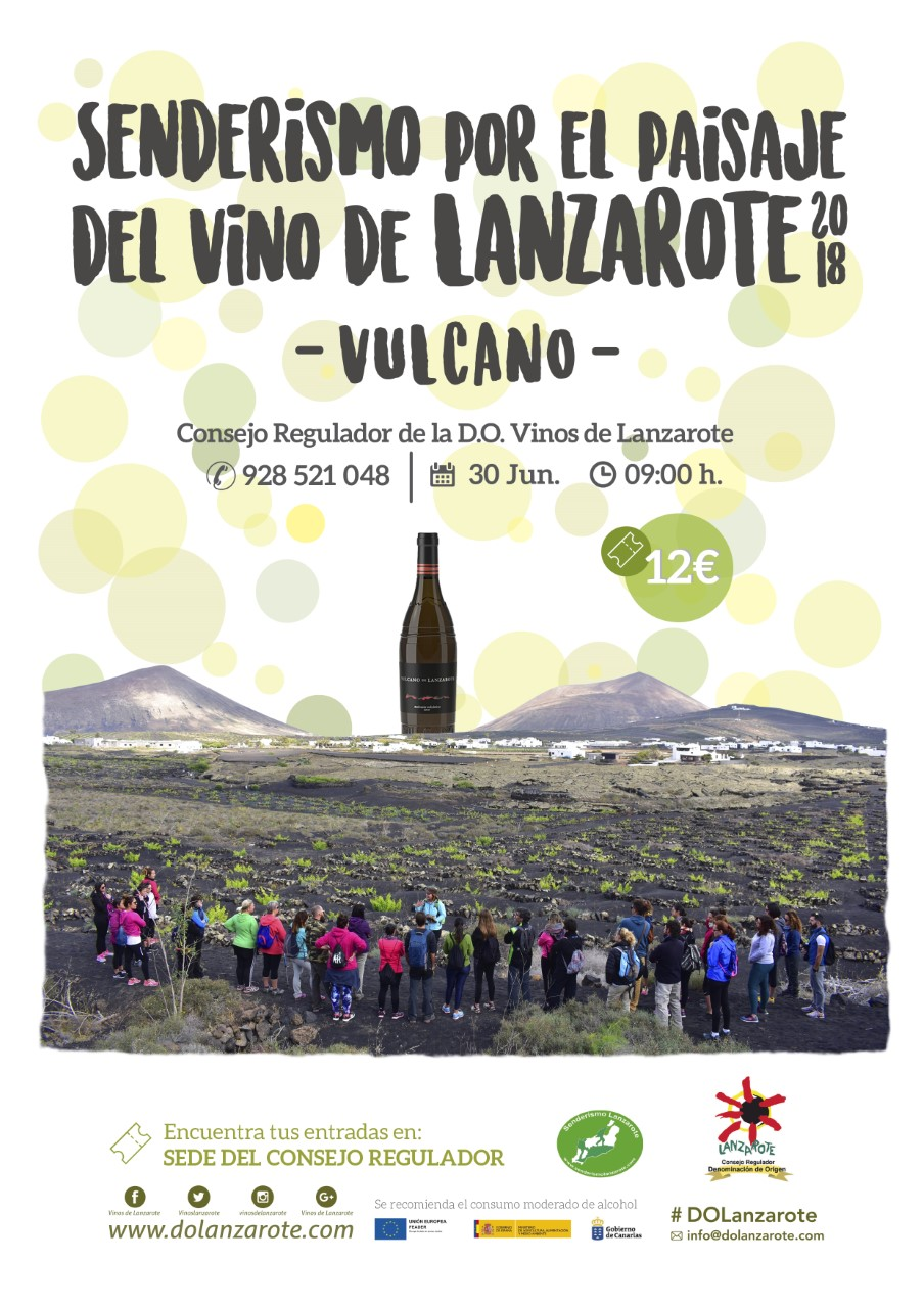 thumbnail_SENDERISMO VINO DE LANZAROTE 2018 - VULCANO